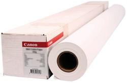 Inkjetpapier Canon 1270mmx30m 120gr opaak
