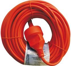 Verlengkabel 20meter oranje