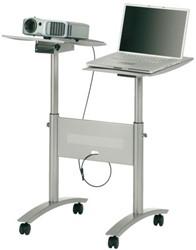 Trolley multimedia notebook projector