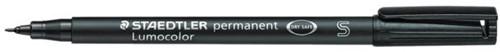 Viltstift Staedtler OHP Lumocolor SF313 zwart fijn