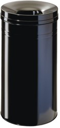 Papierbak met vlamdover Durable 3326-01 30liter zwart