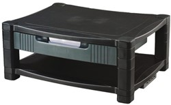 Flatscreenplateau Quantore LCD 43x34cm zwart