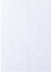 Voorblad Fellowes A4 lederlook wit 100stuks