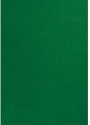 Voorblad GBC A4 lederlook groen 100stuks