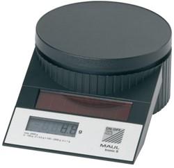 Briefweger Maul Tronic 15120 op solar tot 2000gram zwart