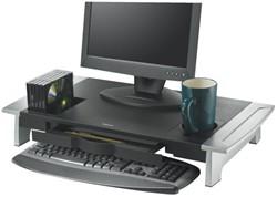 Flatscreenstandaard Office Suite riser groot zwart/grijs