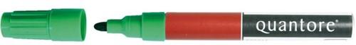 Viltstift Quantore permanent rond 2-3mm groen