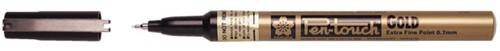 Viltstift Bruynzeel pen-touch EF Goud 1-2mm