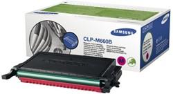 Tonercartridge Samsung CLP-660 rood