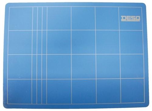 Snijmat Desq A2 450x600mm blauw