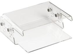 Flatscreenstandaard Quantore 15kg transparant