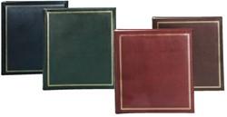 Fotoalbum Walther standaard 30x30cm 4kleuren assorti