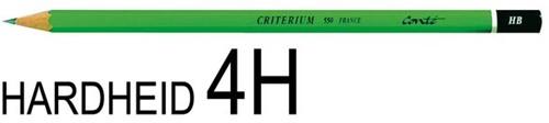 Potlood Bic Conte Criterium 550 4H