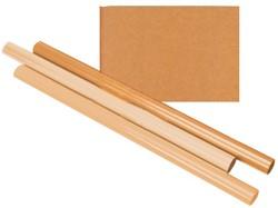 Inpakpapier Kraft gestreept 70gr 100cmx100m op rol